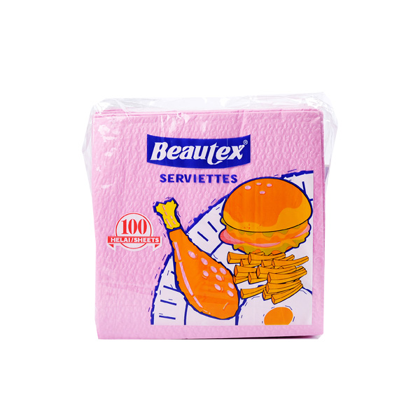Beautex-Napkins-Red