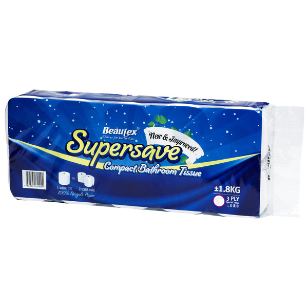 Beautex-Supersave-Compact-BathroomTissues-1.8kg